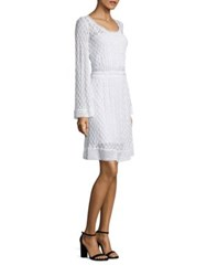Missoni Bell Sleeve Lace Dress White