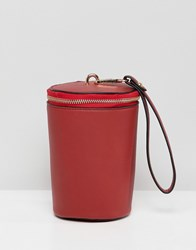 French Connection Bucket Handbag Red