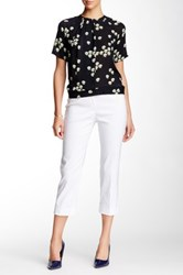 Insight Techno Cuff Cropped Pant White