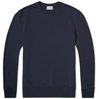 Acne Studios Casey Crew Sweat Deep Blue