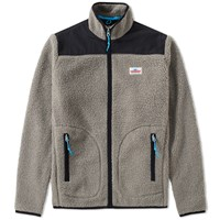 Penfield Mattawa Fleece Zip Jacket Grey