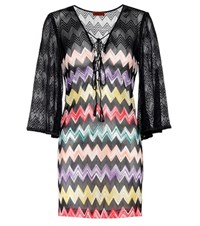 Missoni Mare Crochet Knit Dress Multicoloured