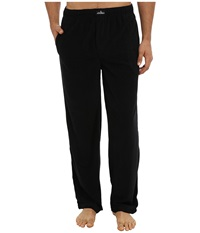 Jockey Microplush Knit Pants Solid Black Men's Pajama