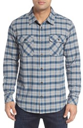 O'neill Men's Jack Oceanfront Regular Fit Double Pocket Check Shirt