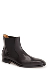 Oliver Sweeney 'Nuxis' Chelsea Boot Men Black Leather