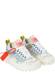 Off White Odsy Chunky Tech Low Top Sneakers White