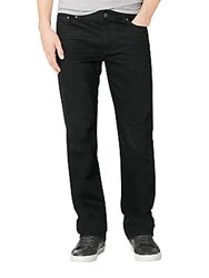 Calvin Klein Jeans Straight Leg Worn In Black