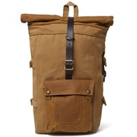 Filson Roll Top Backpack Brown