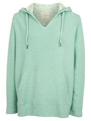 Fat Face St Ives Overhead Hoodie Mint