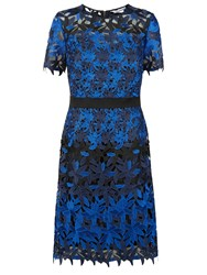 Fenn Wright Manson Petite Planet Dress Black Blue