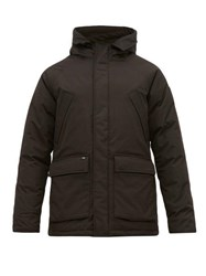 Nobis Heritage Hooded Down Filled Parka Black