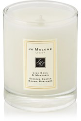 Jo Malone London Lime Basil And Mandarin Scented Travel Candle Colorless