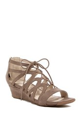 Kenneth Cole Reaction Fun Night Wedge Sandal Brown