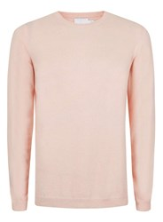 Topman Premium Boxed Pink Sweater Containing Cashmere