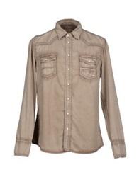 Care Label Shirts Khaki