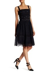 Marc By Marc Jacobs Eyelet Detail Scalloped Skirt Black