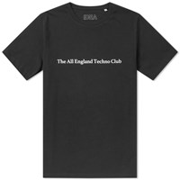 Idea All England Techno Club Tee End. Exclusive Black