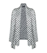 Eskandar Silk Shibori Jacket Female Grey