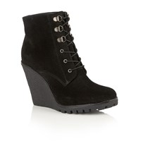 Ravel Trinity Ankle Boots Black Suede