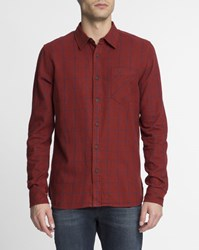 Nudie Jeans Red Gunnar Checked Shirt