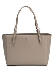 Tory Burch Small 'York' Buckle Tote Nude And Neutrals