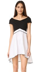 Torn By Ronny Kobo Scarlett Dress Black White