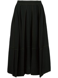 Veronique Leroy Full Midi Skirt Black
