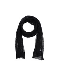 Who S Who Accessories Oblong Scarves Women Black