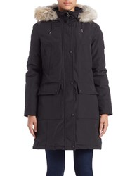 Calvin Klein Plus Water Resistant Down Filled Coat Black