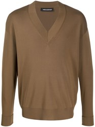Neil Barrett V Neck Jumper 60