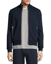 Moncler Full Zip Track Jacket Navy