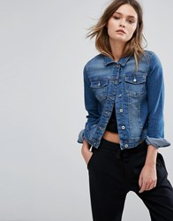 Only Denim Jacket Medium Blue Denim