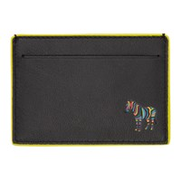 Paul Smith Ps By Black Zebra Card Holder