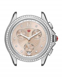 Michele Belmore Chronograph Watch Head With Diamonds