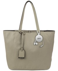 Kenneth Cole Reaction Clean Slate Shopper With Retractable Earphones Mink