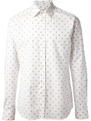 Paul And Joe Owl Print Shirt White