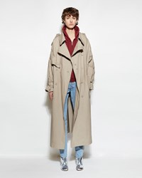 Vetements Oversized Trench Beige