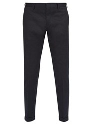 Paul Smith Classic Stretch Cotton Chino Trousers Navy