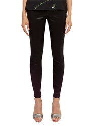Ted Baker Ombray Ombre Skinny Jeans Deep Purple