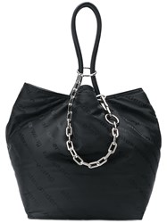 Alexander Wang Cable Chain Tote Bag 001Black
