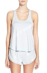 Wildfox Couture Women's Wildfox 'Let It Snow' Jersey Pajamas