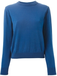 Peter Jensen Back Slit Sweater Blue