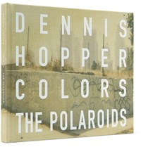 Hopper Dennis Colors The Polaroids Signed Hardcover Book Black