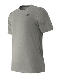 New Balance Short Sleeve Heather Tech Tee Grey