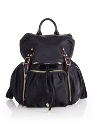 M Z Wallace Marlena Backpack Black Bedford