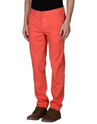 Re.Bell Trousers Casual Trousers Men Coral