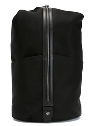 Mismo Zipped Backpack Black