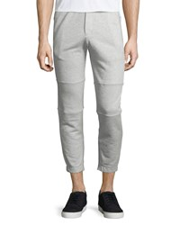 Theory Dryden Heathered Sweatpants Women's Light Heather