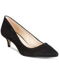 Inc International Concepts Danne Kitten Heel Pumps Only At Macy's Women's Shoes Black