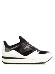 Dolce And Gabbana Belgrado Last Running Low Top Trainers White Multi